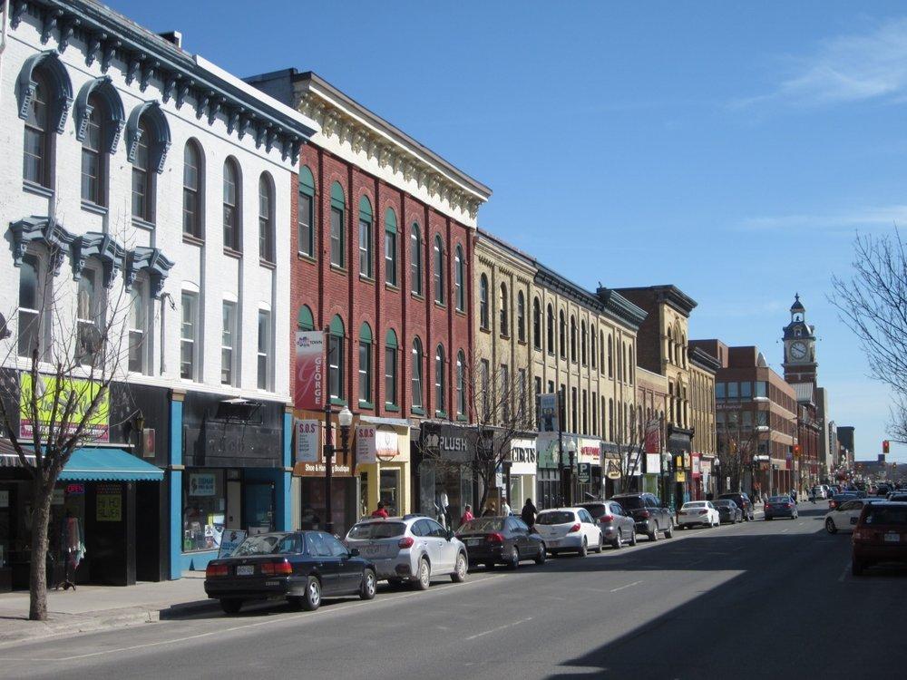 15 George Street looking towards Market Hall, modern Streetscape.jpg