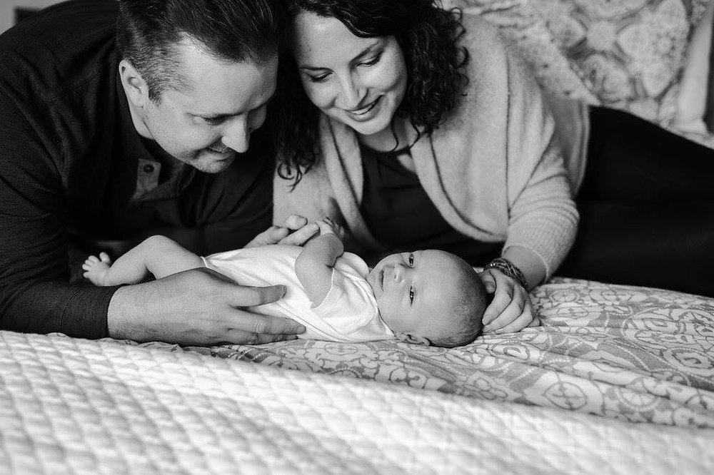 Sarah McDougall Perrin & family