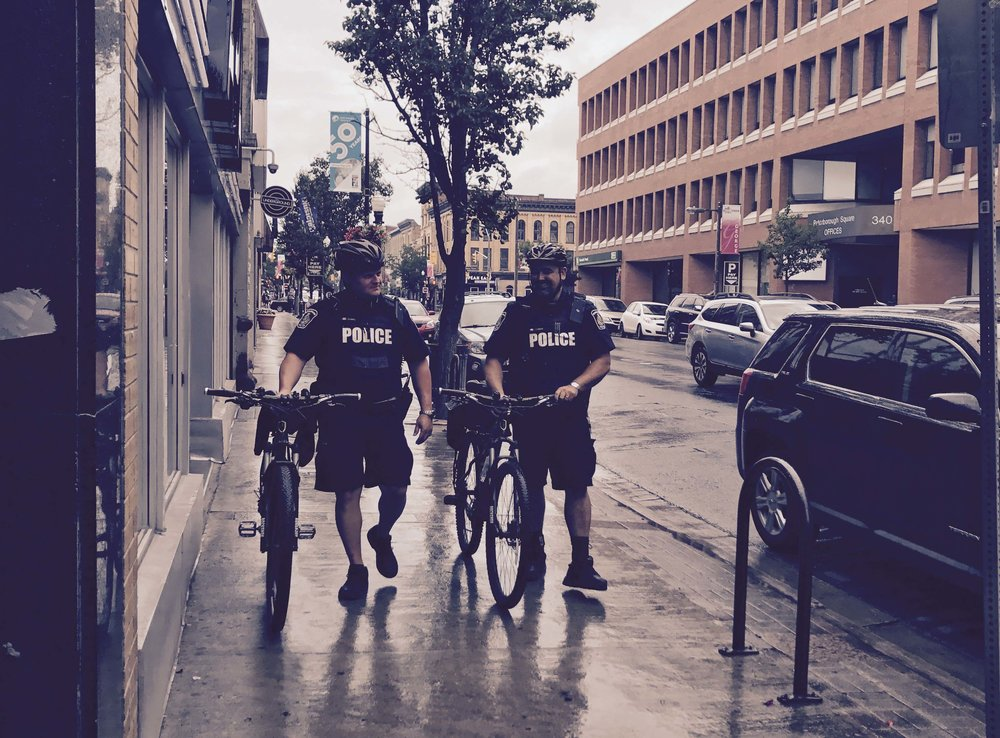 the four Community Services Officers will join the compliment of officers currently patrolling the downtown