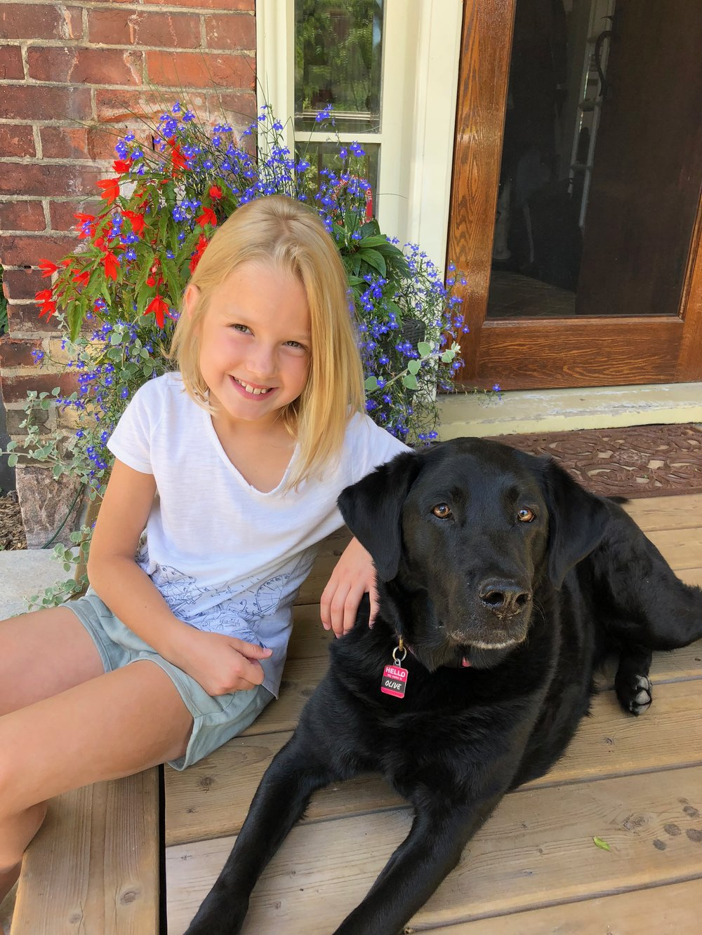 Tilly (pictured with her dog, Olive) is making a great impact on raising awareness about living with Type 1 diabetes
