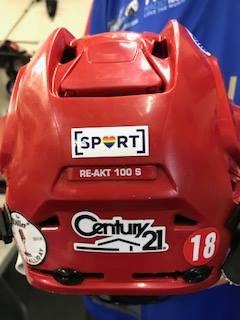 Laker helmet (picture via Sport a Rainbow Facebook page)