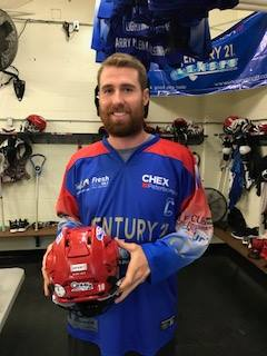 Lakers captain Robert Hope (picture via Sport A Rainbow Facebook page)