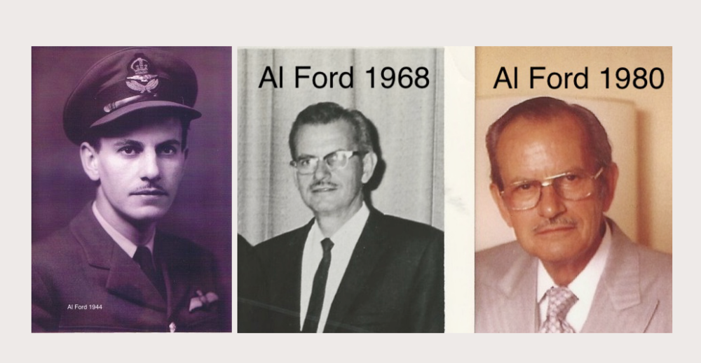 Amanda's father Alan Ford