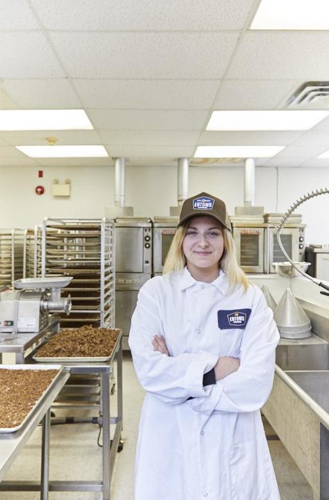 Entomo Farms staff member