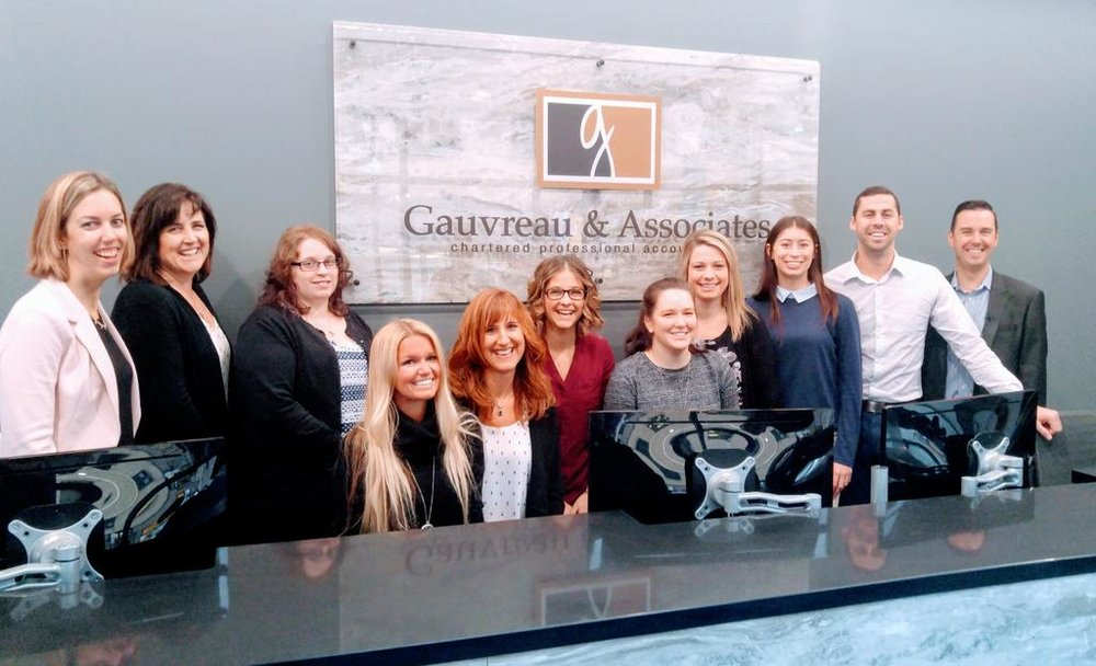 Gauvreau & Associates team in their new space
