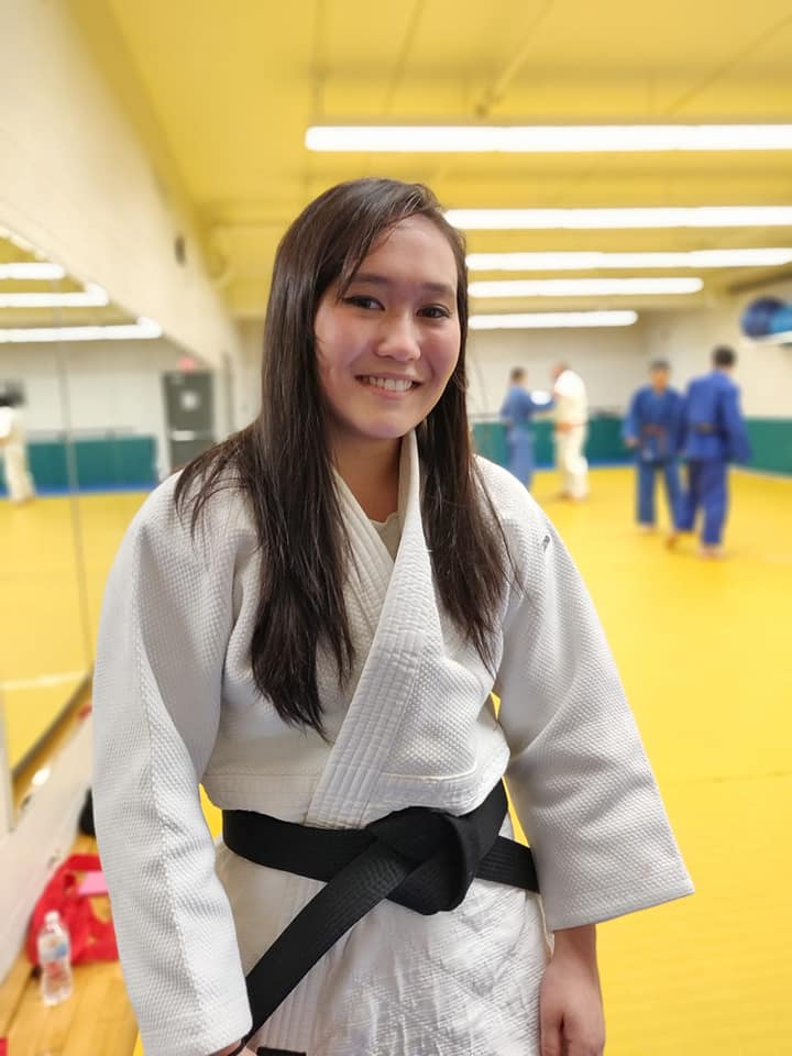 "Sarah Miller: ""This black belt promotion is truly an honour."""