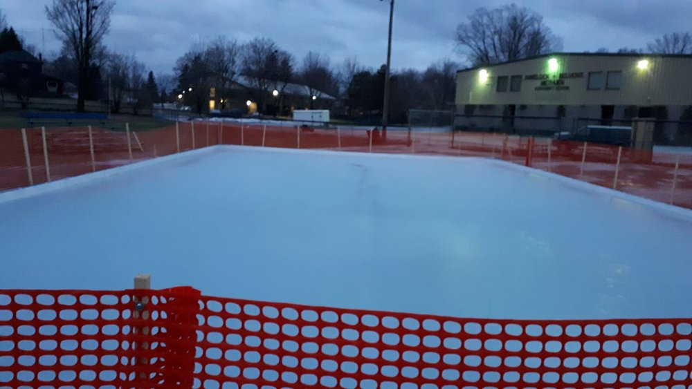 The Community Rink in Havelock (January 1st, 2019)