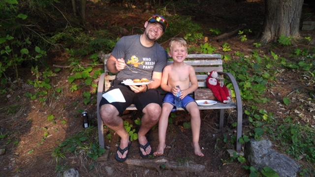 Eli and his Dad Morgan—Mimi