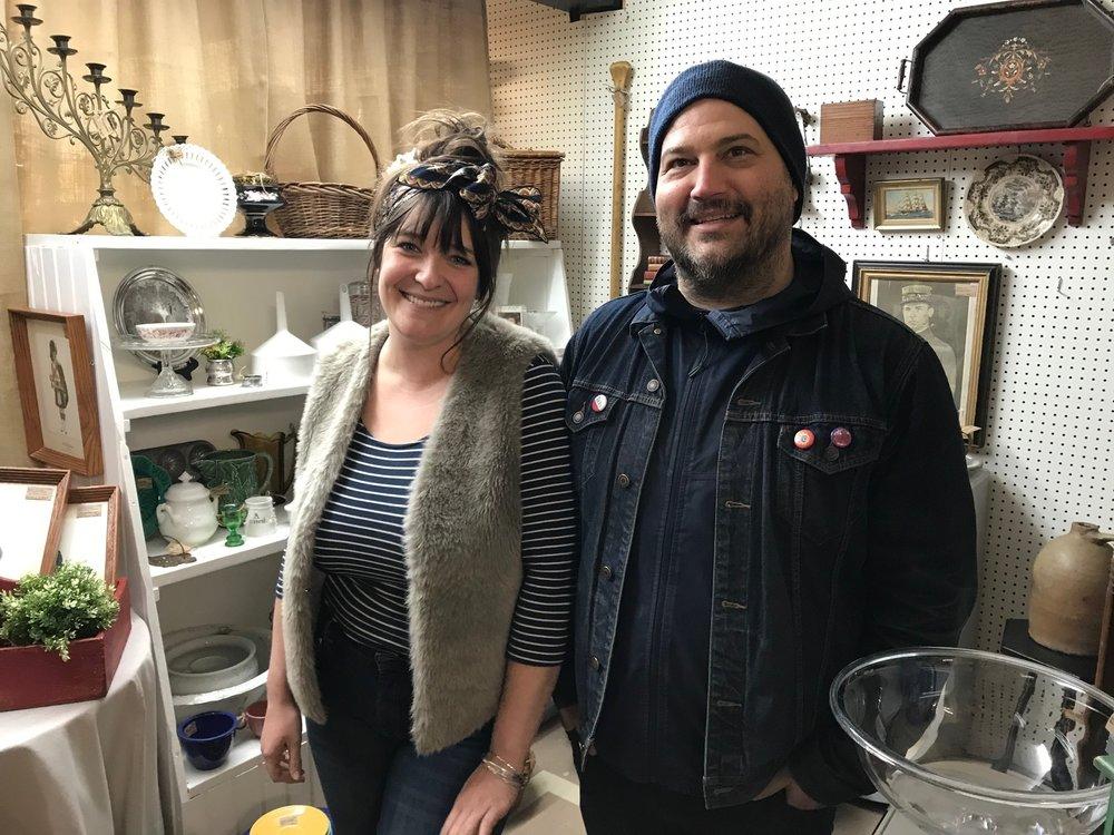 Owners Kayley Duggan and Jonathan Hall