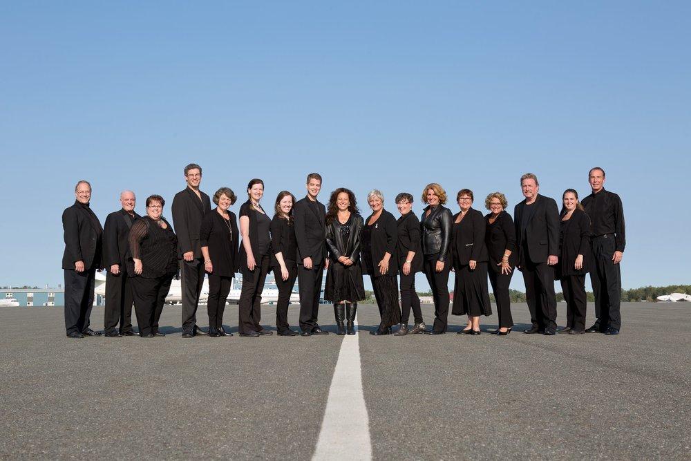 Photo courtesy Susan Dunkley, Peterborough Pop Ensemble