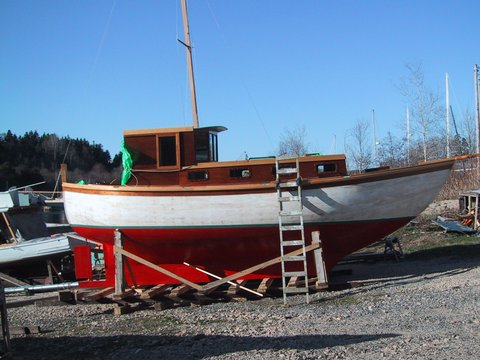The Barkhouse Motorsailer