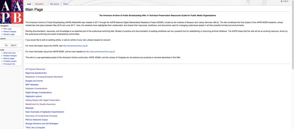wiki.americanarchive.org