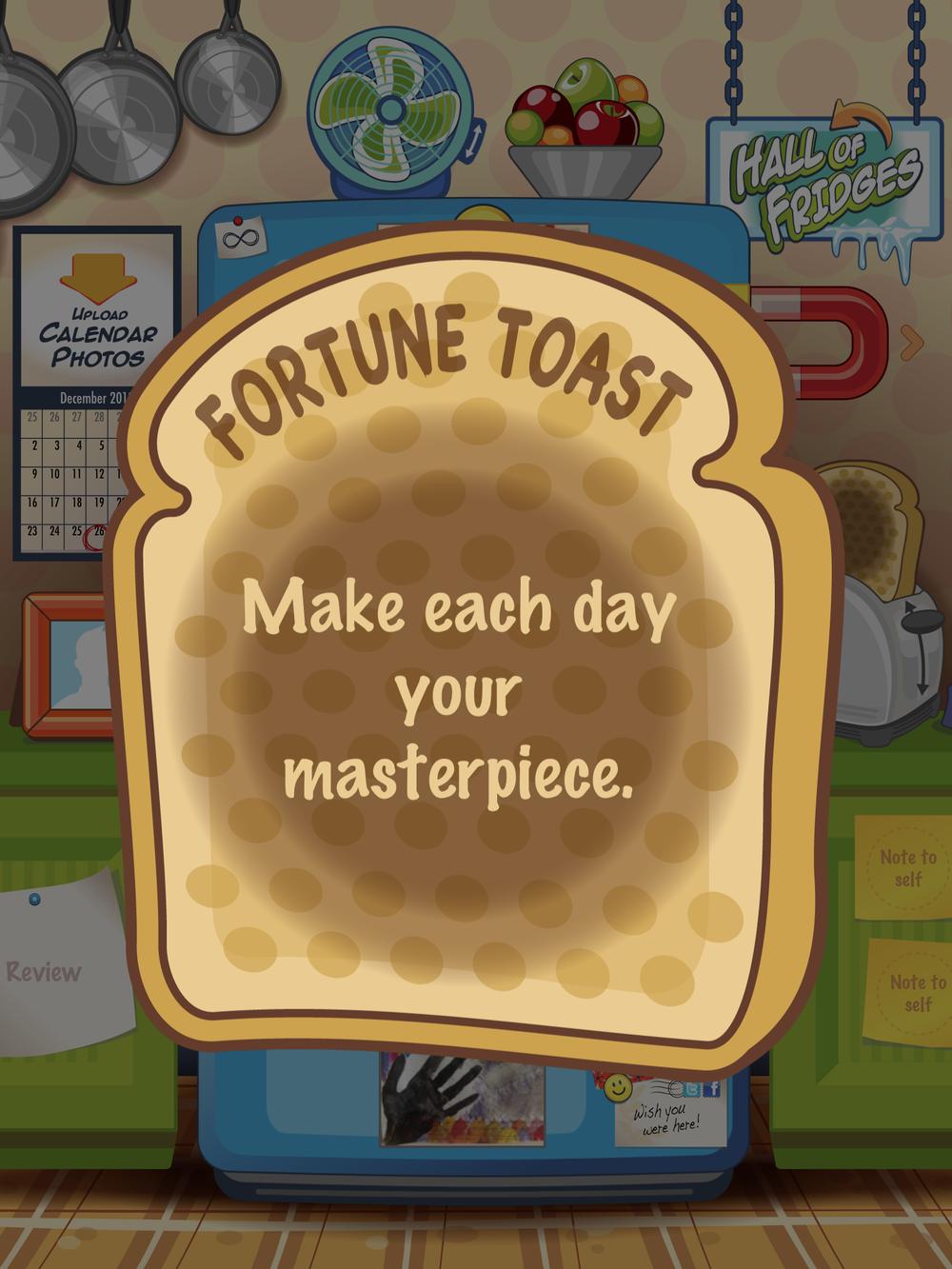 Fortune Toast