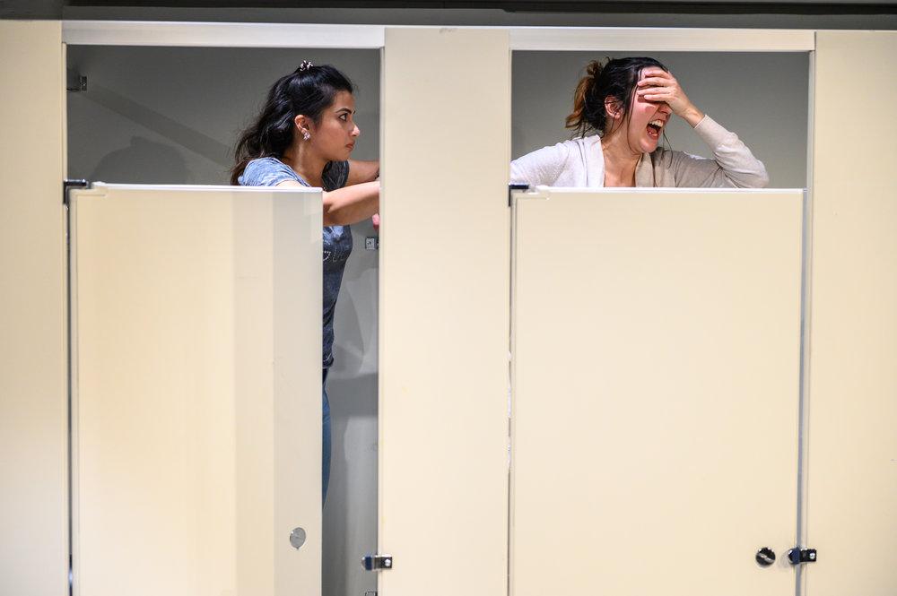 Anita Majumdar & Eva Barrie. Photos: Dahlia Katz