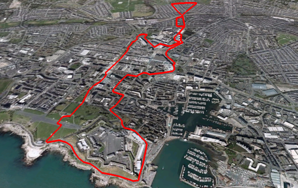 Final Project Research - Plymouth Route 1
