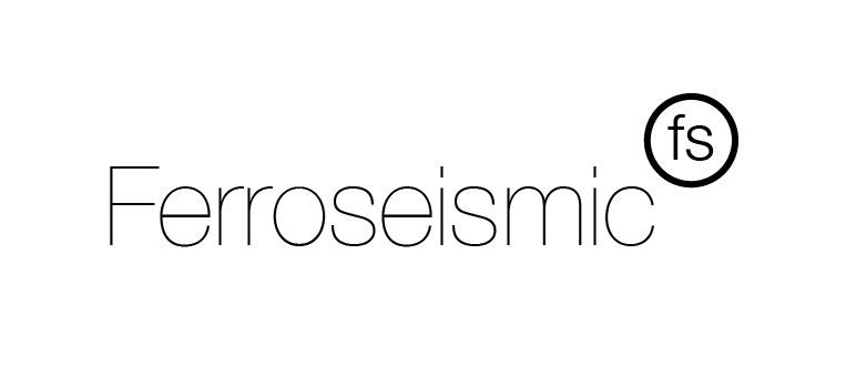 The name 'Ferroseismic' comes from a mixture of Ferrofluid and Seismic Activity, which is the two main things the project is about. For the branding we wanted something clean and simple. It had to contrast but also look sterile for the environment which Ferrofluid looks and acts best in. We chose a simple black and white look with good old' Helvetica Neue. It works brilliantly in the video and helps to convey the modern, slightly sinister looking Ferrofluid whilst looking professional and elegant.