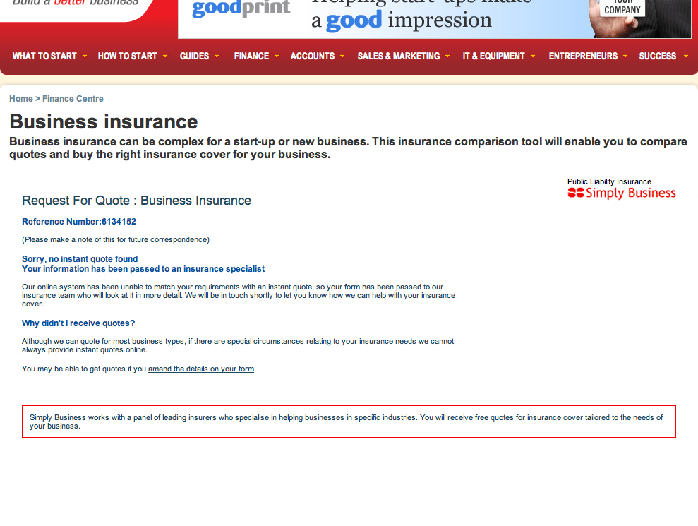 BundleIn - Getting Insurance Quotes