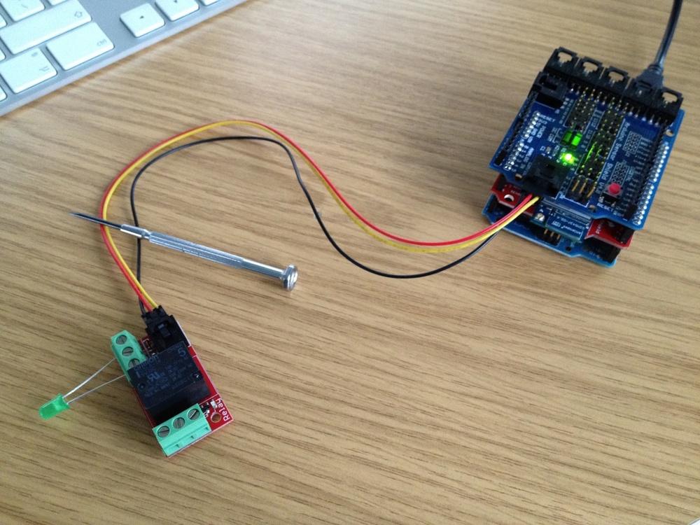 Electromagnet working!
