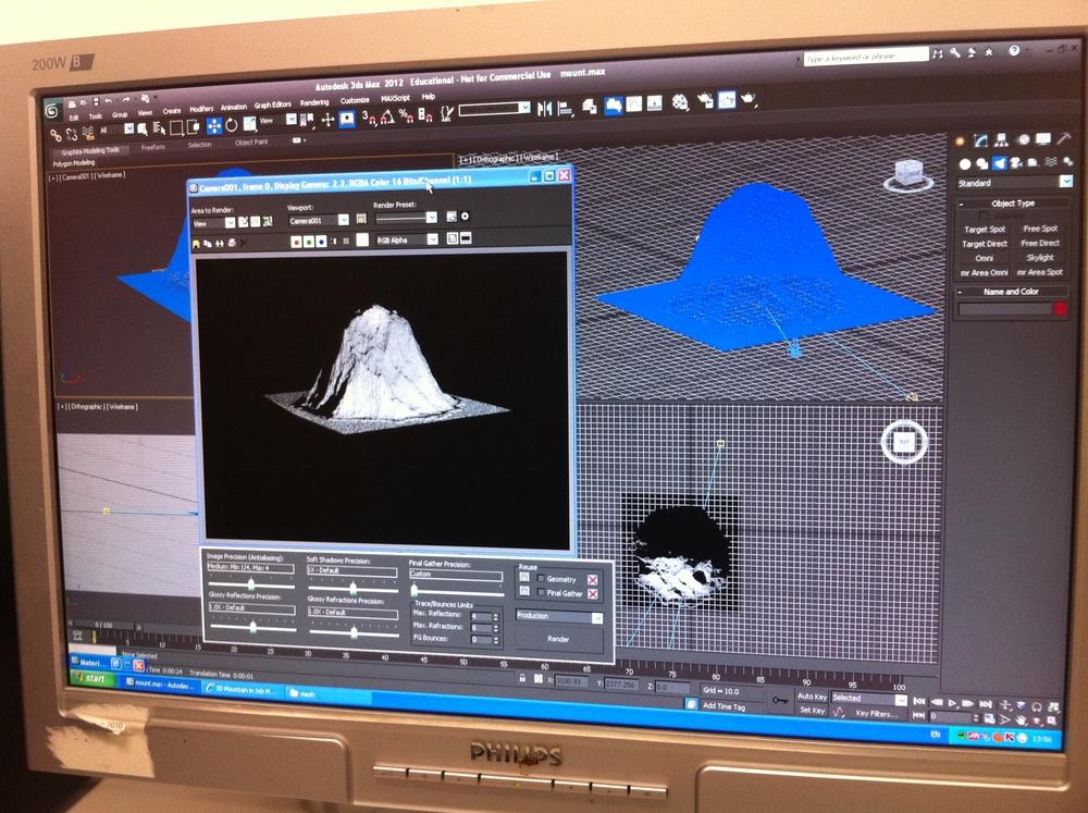 Kinect - Mount Rushmore (MrkII) model