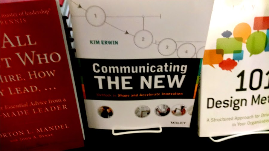 Kim's recent book, Communicating The New, is available for purchase at the conference pop-up shop