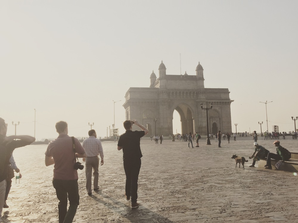 We visited the gateway of India.