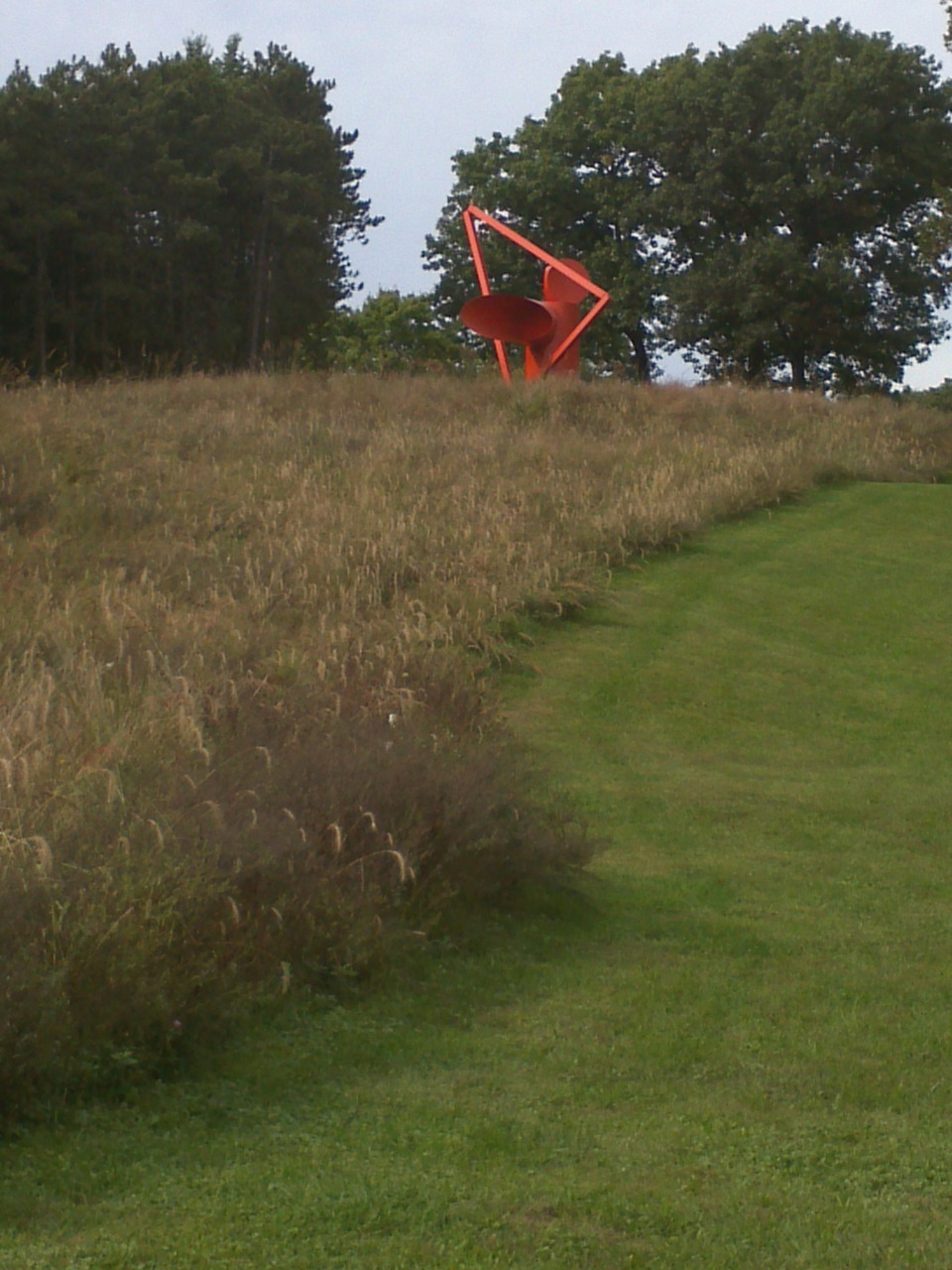Adam , 1970   Alexander Liberman   Storm King Art Center