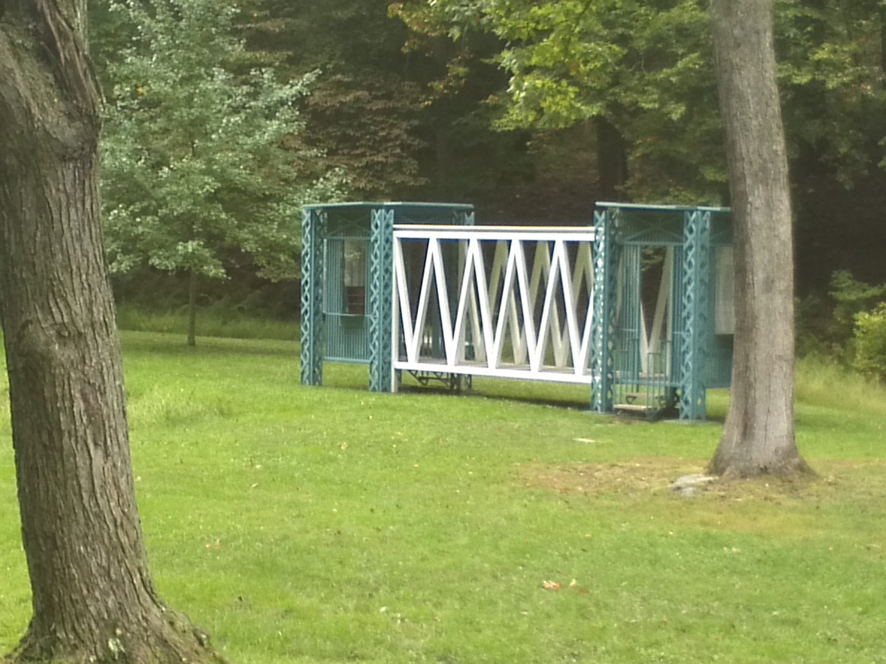 Gazebo for Two Anarchists,  1992   Gabriella Antolini and Alberto Antolini   Storm King Art Center