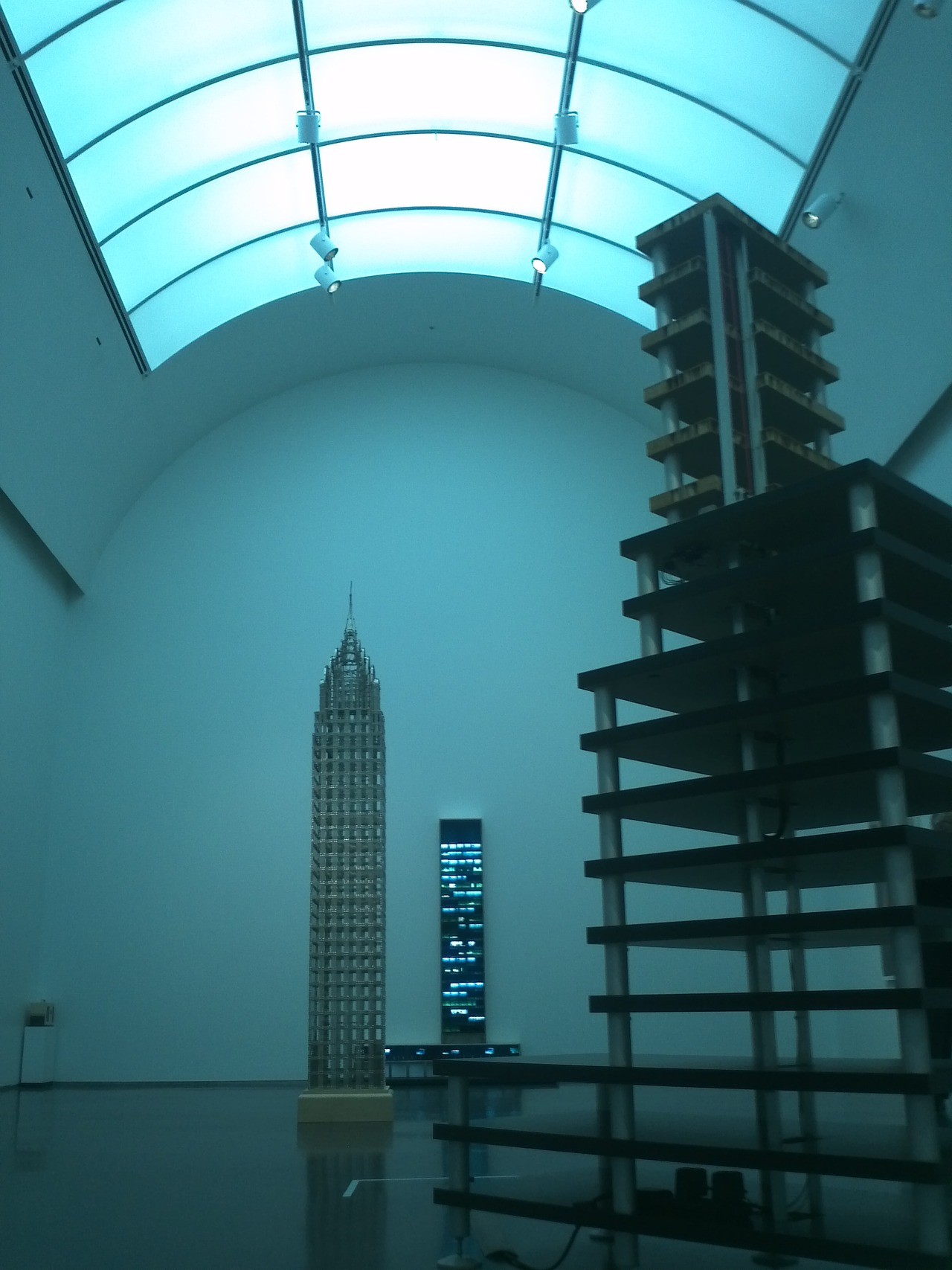 skyscrapers show at MCA Chicago