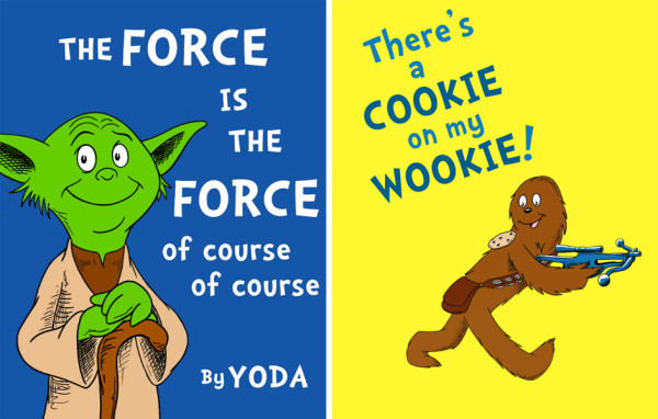 explore-blog :     If Dr. Seuss created Star Wars  by  Jason Peltz  – the best speculative Star Wars since  if Darth Vader raised little Luke , and the best speculative Seuss since  if Dr. Seuss stories embraced political incorrectness .    ( ↬   It's Okay To Be Smart )