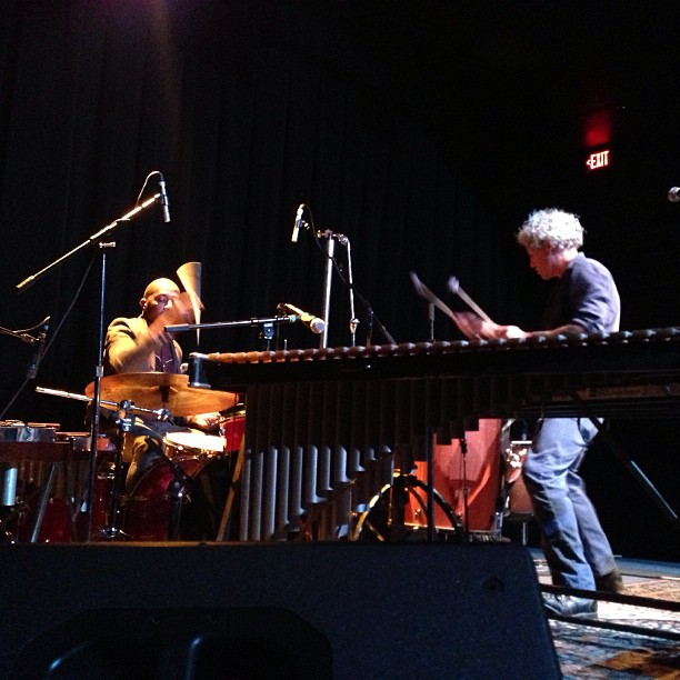 Earl Harvin and Mike Dillon at The Kessler Theater