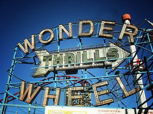 totally dig Corner Bodega.    corner-bodega :      Wonder Wheel, Coney Island, Brooklyn 2  by  Vivienne Gucwa  on Flickr.