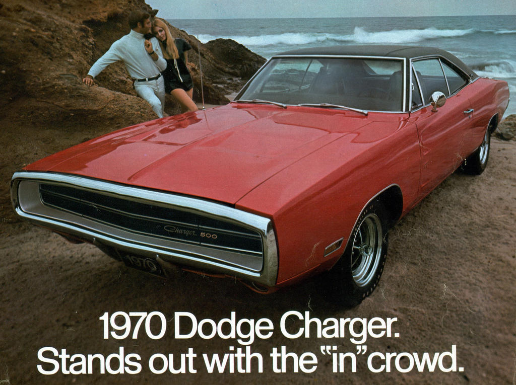 superseventies :     1970 Dodge Charger 500 advertisement.