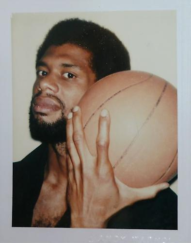 publicartfund :   Kareem Abdul-Jabbar by Andy Warhol.
