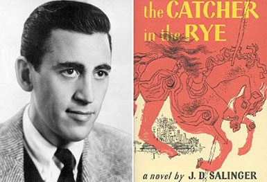 serenitymeow :      pbsthisdayinhistory :       July 16, 1951:  Catcher in the Rye  Published      On this day in 1951, J.D. Salinger's classic novel,  The Catcher in the Rye , was published. The novel, which was about troubled 16-year-old Holden Caulfield, exemplified common feelings of teenage angst and a resistance to growing up. Since it was published,  The Catcher in the Rye  has been linked to issues of controversy and censorship, and even  high-profile crimes like the murder of John Lennon .     In honor of J.D. Salinger's death in 2010, PBS NewsHour's Jim Lehrer talks to experts about the author's  lasting influence on American literature .      Fitting, then, that I just started re-reading this a few days ago. :)