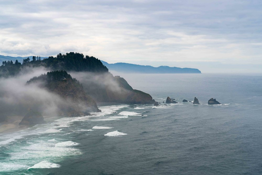 The view from Cape Meares