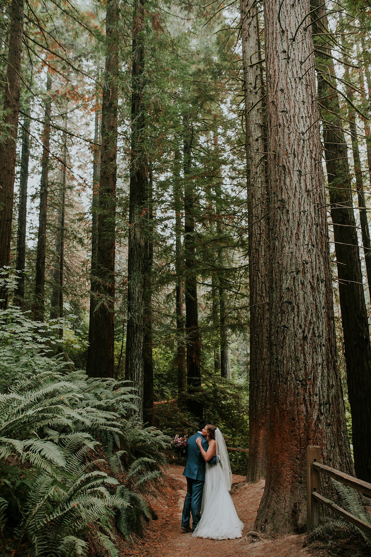 Portland, Oregon wedding at Hoyt Arboretum