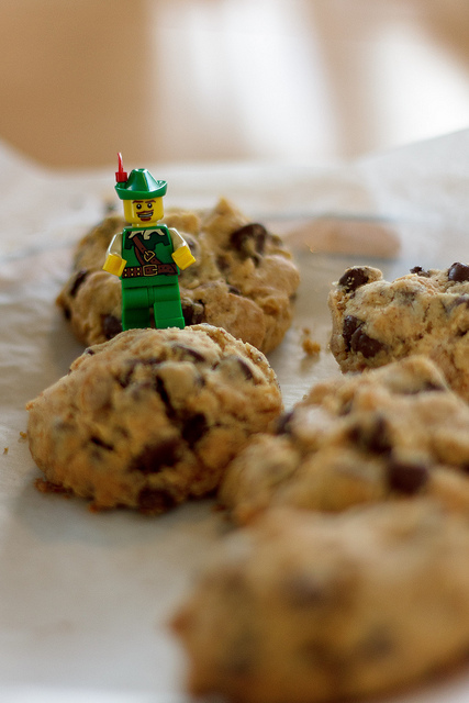 Lego man and cookies on Flickr.
