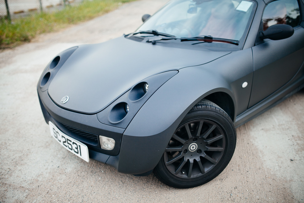 Smart Roadster Coupe Dave See