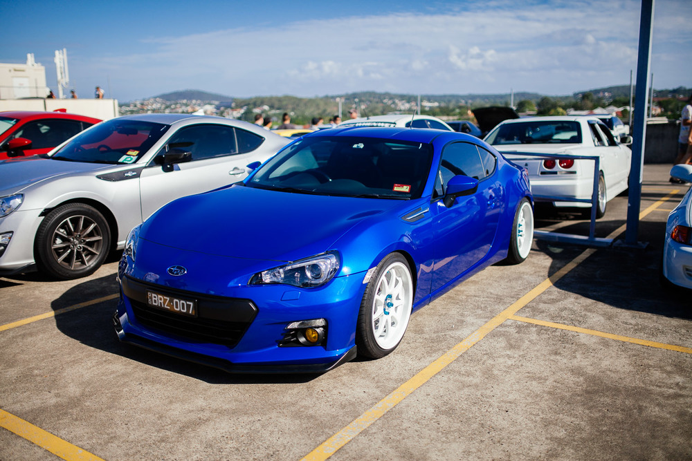 Subaru BRZ. Now where's that long awaited STi version?