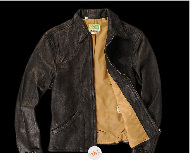 Bond Style Pick: Levi's Vintage Clothing 1930s Leather Jacket   Chris Wright,  gearpatrol.com     Though Daniel Craig pulls off a solid fash­ion­able Bond, let's be hon­est: what we're buy­ing tick­ets to see is the griz­zly after­math (and pre-math, and during-math) of his nasty vio­lent streak. He's got to look like a killer while he does…