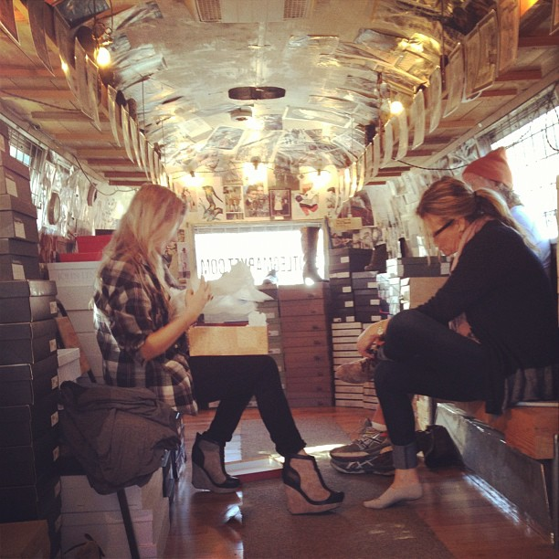 #boots #airstream #austin #footwear  (at Bootleg)