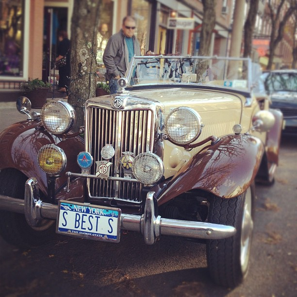 #classic #car #newyork  (at Rhinebeck, New York)