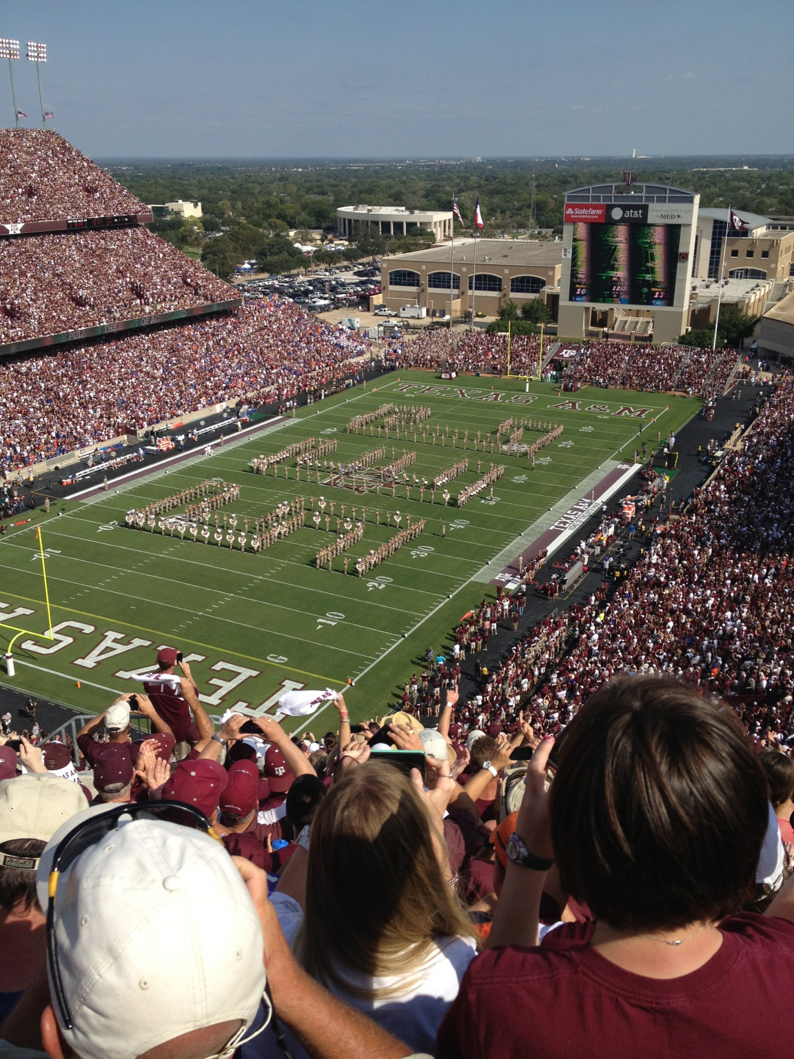 Welcome to the SEC Texas A&M. at Kyle Field – View on Path.