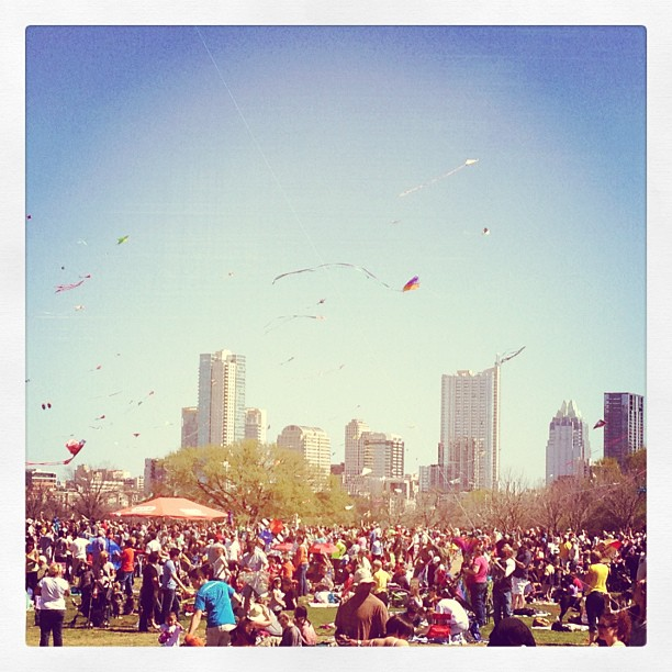 Taken with Instagram at Zilker Park Kite Festival