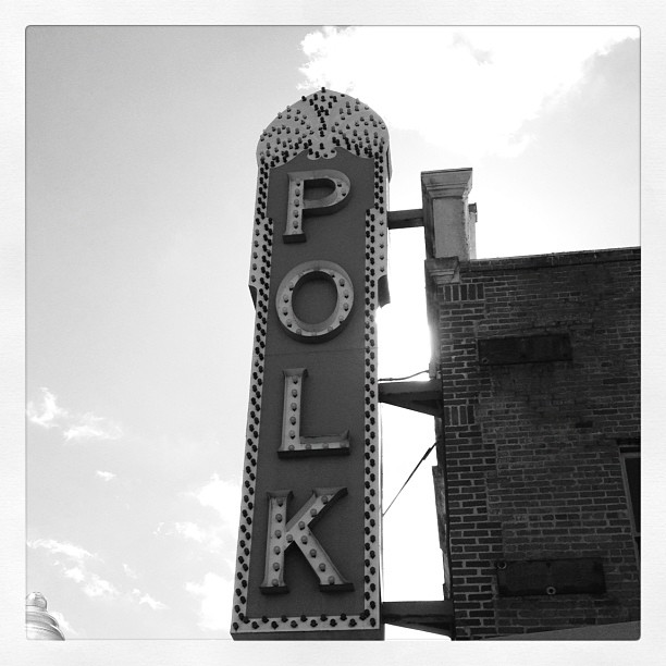 Polk Theater - Lakeland, FL. (Taken with  instagram )