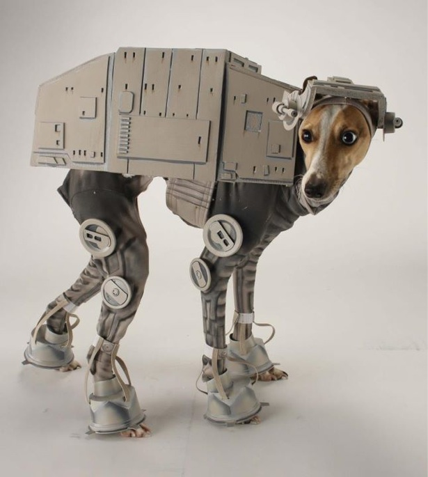 laughingsquid: Star Wars AT-AT Dog Costume