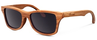 Handcrafted all wood sunglasses by Shwood.