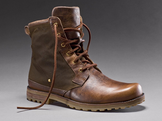 Barbour x Rockport Holiday 2010 Boots | bespokeordie.com