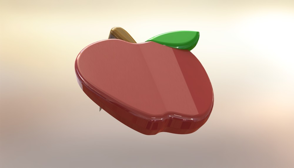 R endered apple Corner Keeper