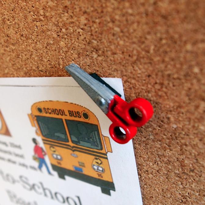 Scissors Corner Keeper on abulletinboard